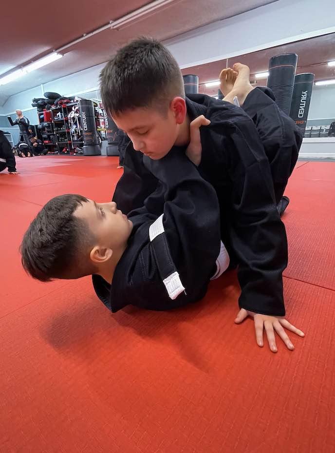 Crosscollar, Moore's Martial Arts Clovis in Fresno, CA